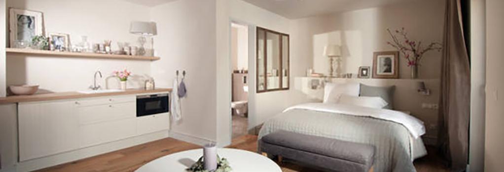 シェーンハウス アパートメンツ - ベルリン - 寝室