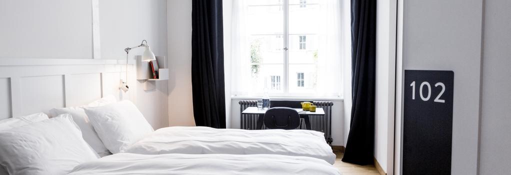 マルクトガッセ ホテル - チューリッヒ - 寝室