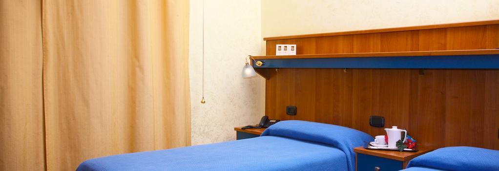 ホテル トレ ステッレ - ローマ - 寝室