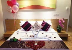 ル アップル ブティック ホテル @KLCC - クアラルンプール - 寝室