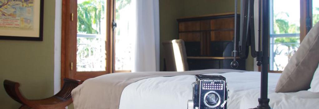Hôtel des Palmistes - Cayenne - 寝室