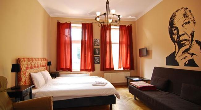 Nobel Suites - クラクフ - 寝室