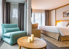 ブティック ホテル ル モルガンヌ - シャモニー・モンブラン - 寝室