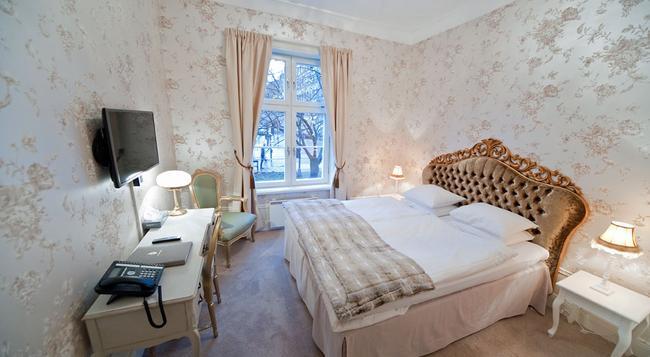 ブロウワルショフ ホテル ヴァードシューセット クラス ポア ホーネット - ストックホルム - 寝室