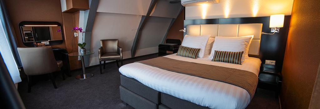ホテル マンション - アムステルダム - 寝室