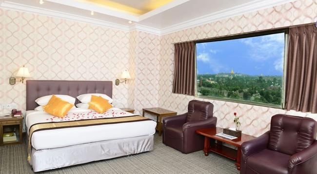 ホテル グランド ユナイテッド アロン支店 - ヤンゴン - 寝室