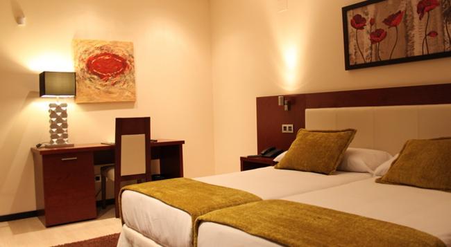 ホテル ドン フェリペ - セゴビア - 寝室