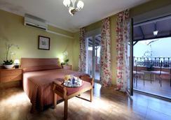 ホテル トリブーナ - マラガ - 寝室