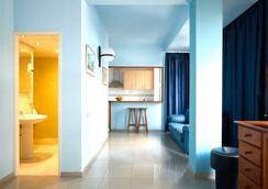 ホテル アトランタ - ラスパルマス・デ・グランカナリア - 寝室