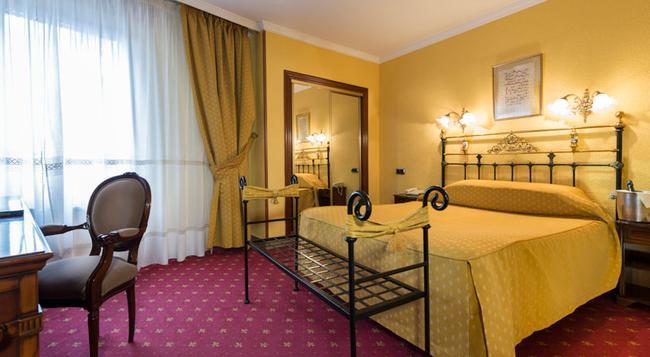 ホテル フェルナン ゴンザレス - ブルゴス - 寝室