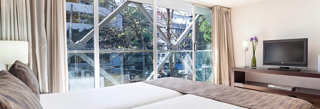 ユーロスターズ スイーツ レフォルマ - メキシコシティ - 寝室