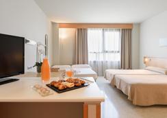 アパートホテル キャンパス サン マメス - レオン - 寝室