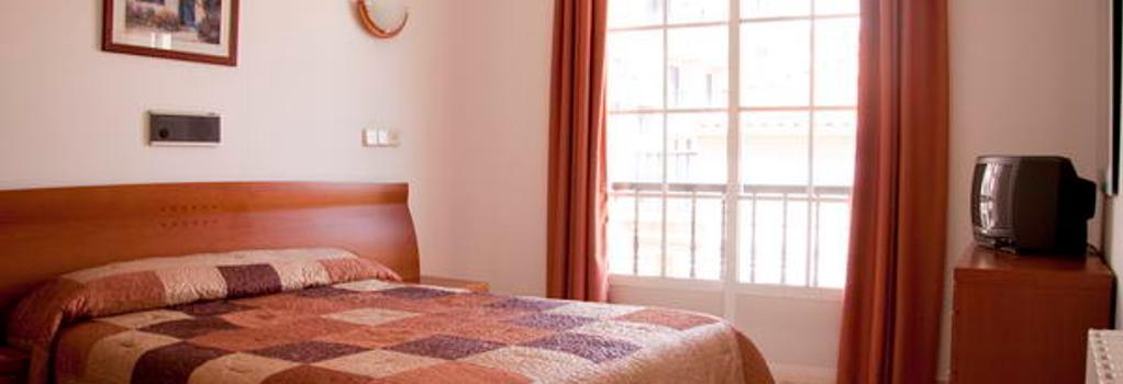 Hotel Florida Mar - サンシェンショ - 寝室