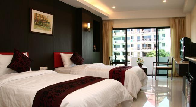 My Place @ Hua-Hin Hotel - ホアヒン - 寝室