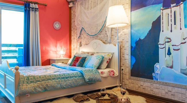 カサ ソラク ベッド & ブレックファスト - ソクチョ=シ - 寝室