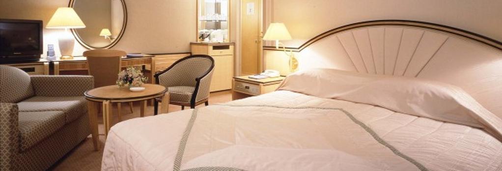 今治国際ホテル - 今治市 - 寝室
