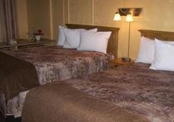 Hotel Les Mouettes - Sept-Îles - 寝室