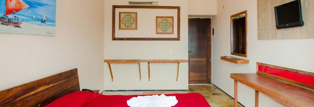 Hotel Porto Futuro - フォルタレザ - 寝室