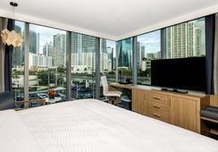 Atton Brickell Miami Hotel - マイアミ - 寝室