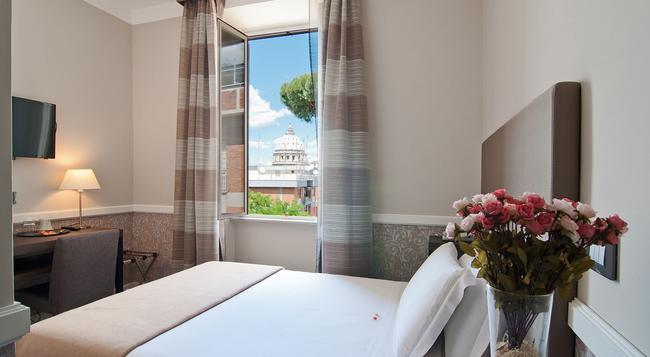 フレグランス ホテル サントピーテル - ローマ - 寝室