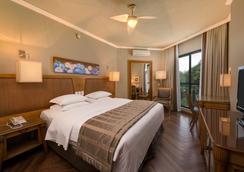 Wish Serrano Resort And Convention Gramado - グラマド - 寝室