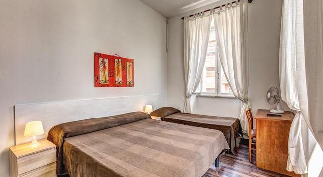ホテル ロディ - ローマ - 寝室