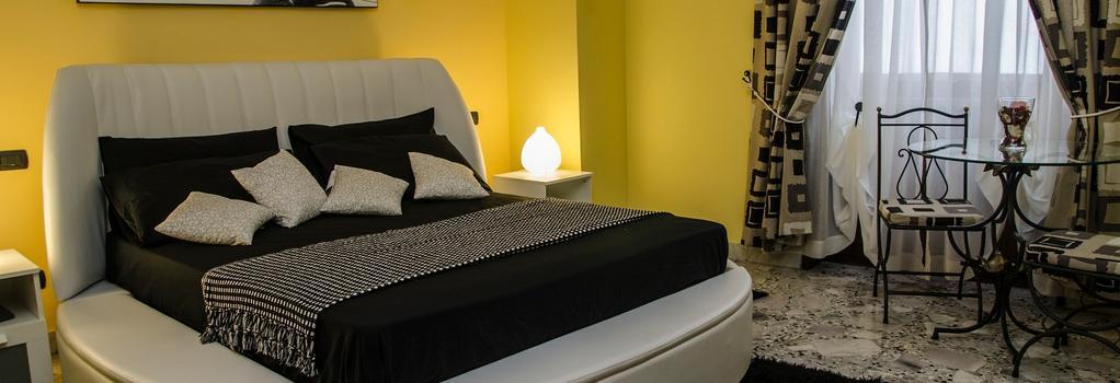 ホテル サンテリジョ - ナポリ - 寝室