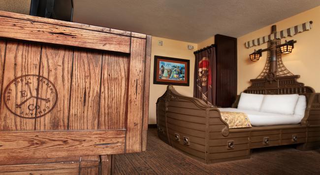 Disney's Caribbean Beach Resort - レイク・ブエナ・ビスタ - 寝室
