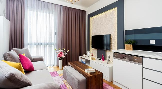 Mera Suites - イスタンブール - 寝室
