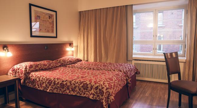 ホテル アンナ - ヘルシンキ - 寝室