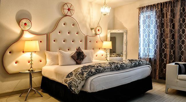 ホワイトロー ホテル - マイアミ・ビーチ - 寝室