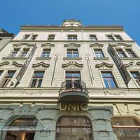 ホテル UNIC プラハ Hotel Front