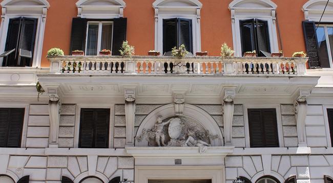 ホテル ザイラー - ローマ - 建物