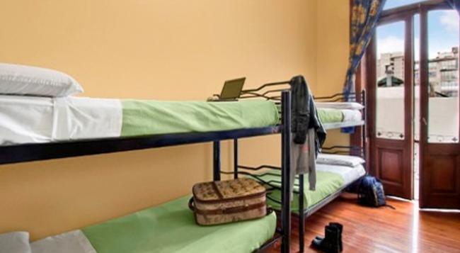 ミルハウス ホステル イポ - ブエノスアイレス - 寝室