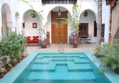 Riad Ghali & Spa - マラケシュ - プール