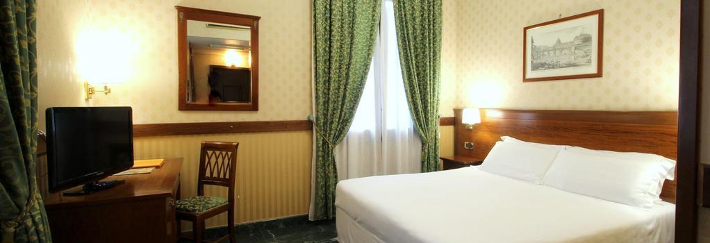 グランド ホテル ジャニコロ - ローマ - 寝室