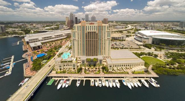Tampa Marriott Waterside Hotel and Marina - タンパ - 建物