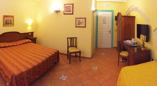 ホテル メディテラネオ - シラクーサ - 寝室