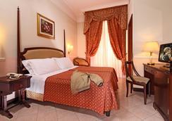 ホテル ニッツァ - ローマ - 寝室