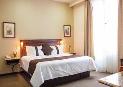Hotel Mision Catedral Morelia - モレリア - 寝室