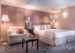 ホテル ボーシャン - パリ - 寝室
