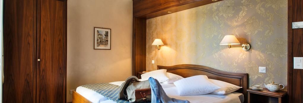 ホテル インターナショナル オー ラック - ルガノ - 寝室