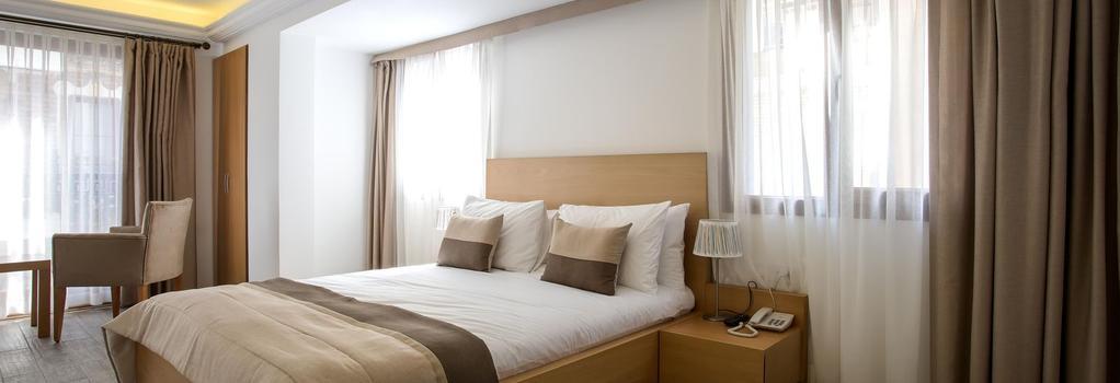 MB City Hotel - イズミール - 寝室