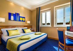 ホテル ディオクレツィアーノ - ローマ - 寝室