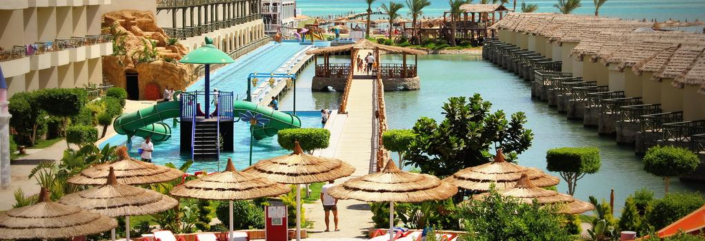 Panorama Bungalows Aqua Park Hurghada - フルガダ - ビーチ