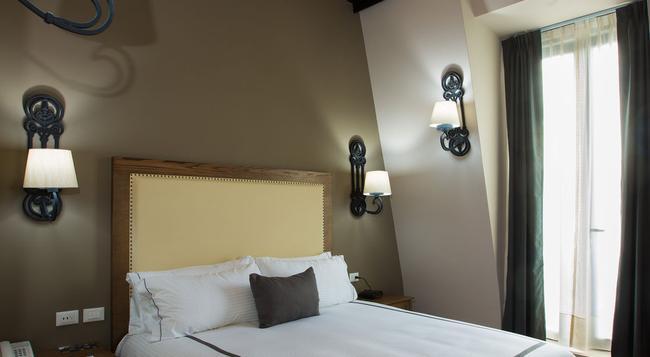 ホテル イストリコ セントラル - メキシコシティ - 寝室