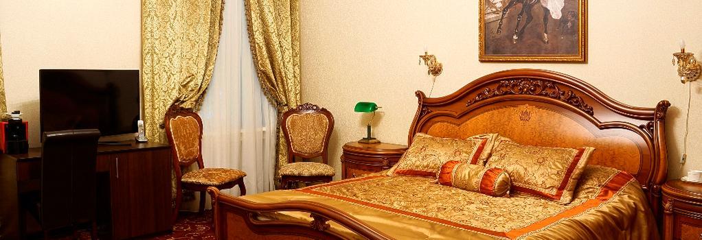 ホテル カメルゲルスキ - モスクワ - 寝室