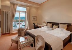 リングホテル ラインホテル ドレーゼン - Bonn - 寝室