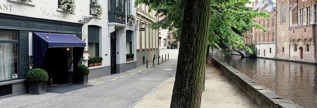 ホテル ディエ スワネ - ブルージュ - 建物