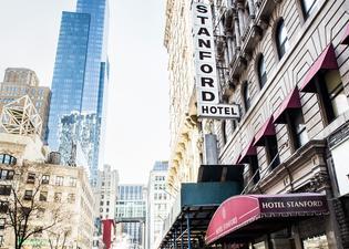 ホテル スタンフォード NYC コリアタウン
